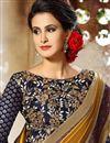 photo of Modish Mustard Color Designer Festive Wear Embroidered Saree In Dhupion And Silk Fabric