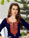 photo of Elegant Cotton Fabric Patiala Salwar Kameez In Gorgeous Blue Color