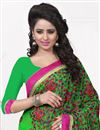 photo of Green Color Soothing Georgette Saree
