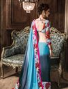 photo of Grey Casual Wear Fancy Georgette Saree