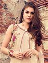 photo of Designer Classic Beige Color Cotton Salwar Kameez
