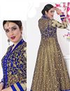 photo of Beige Sharara Top Designer Lehenga Choli-1007