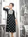 image of Beguiling Georgette Party Wear Kurti