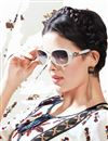 photo of Printed Party Wear White Color Georgette Kurti