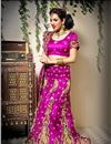 image of Wedding Bridal Heavy Embroidered Lehenga Choli