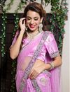 photo of Pink Color Embroidered Chaniya Choli