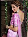 picture of Pink Color Embroidered Chaniya Choli
