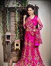 image of Rani Color Embroidered Chaniya Choli