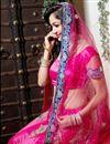 photo of Dark Pink Color Embroidered Chaniya Choli