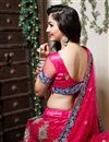 picture of Dark Pink Color Embroidered Chaniya Choli