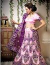 image of Pink Color Embroidered Chaniya Choli