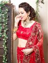 photograph of Wedding Bridal Heavy Embroidered Lehenga Choli