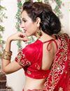 photo of Red Color Embroidered Chaniya Choli