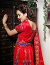 photograph of Bridal Wear Embroidered Ghaghra Choli