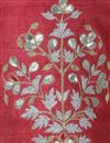 picture of Exclusive Fancy Saree With Light Maroon Gotta Patti Embroidered Blouse