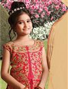 photo of Eid Special Silk Fancy Embroidered Lehenga For Girls