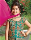 photo of Eid Special Silk Embroidered Lehenga For Girls
