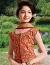 photo of Embellished Girls Function Wear Lehenga In Silk Fabric