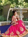 image of Function Wear Silk Girls Lehenga Choli