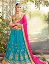 image of Navratri Special Function Wear Fancy Lehenga Choli In Net