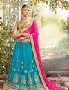 image of Eid Special Function Wear Fancy Lehenga Choli In Net