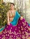 photo of Navratri Special Embellished Net Designer Lehenga In Purple