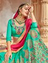 photo of Eid Special Silk Function Wear Embellished Lehenga