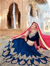 photo of Eid Special Embroidered Wedding Wear Lehenga Choli in Silk