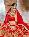 photo of Eid Special Silk Function Wear Embellished Fancy Lehenga