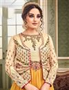photo of Eid Special Embroidered Fancy Georgette And Art Silk Long Anarkali Dress