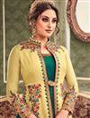 photo of Eid Special Art Silk Embellished Designer Floor Length Anarkali