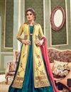 image of Eid Special Art Silk Embellished Designer Floor Length Anarkali
