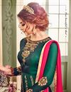photo of Eid Special Function Wear Fancy Art Silk Anarkali Salwar Suit