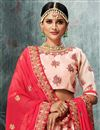 photo of Occasion Embellished Pink Lehenga Choli In Fancy Fabric
