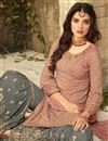 photo of Festive Special Georgette Festive Wear Sharara Suit With Embroidery Work In Pink Color
