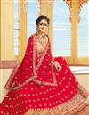 photo of Function Wear Fancy Embroidered Lehenga Choli In Georgette Fabric