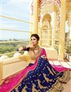 photo of Georgette Fabric Designer Function Wear Lehenga With Fancy Embroidery