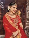 photo of Orange Designer Lehenga With Embroidery Designs And Enigmatic Blouse