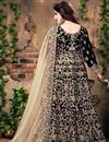 photo of Embellished Banglori Silk Floor Length Anarkali