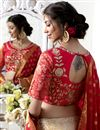 photo of Wedding Special Beige Embroidery Work On Function Wear Lehenga Choli In Art Silk Fabric