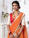 photo of Eid Special Embroidery Designs On Beige Art Silk Festive Wear Chaniya Choli