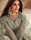 photo of Sonal Chauhan Net Fabric Designer Party Wear Long Anarkali