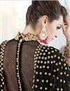 photo of Featuring Embroidered Black Wedding Wear Georgette Anarkali Salwar Kameez