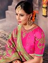 photo of Function Wear Pink Traditional Saree In Art Silk
