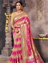 image of Beige Traditional Function Wear Fancy Saree In Art Silk