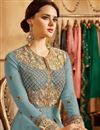 photo of Ready To Ship Designer Georgette Floor Length Embroidered Anarkali Salwar Suit