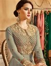photo of Ready To Ship Wedding Function Wear Georgette Heavy Anarkali Dress With Fancy Work