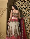 image of Enchanting Net Wedding Wear Lehenga Choli