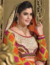 photo of Tantalizing Wedding Bridal Embroidered Lehenga