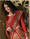 photo of Designer Red Color Bridal Lehenga Choli